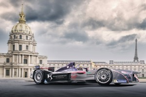 DS Virgin Racing na utrci Formule E u Parizu