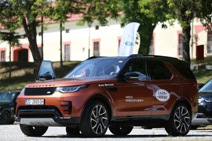Jaguar F-Pace i Land Rover Discovery