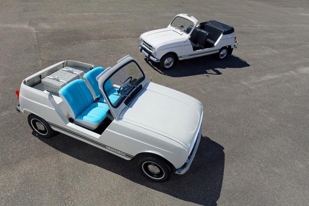 Renault 4L Plein Air koncept