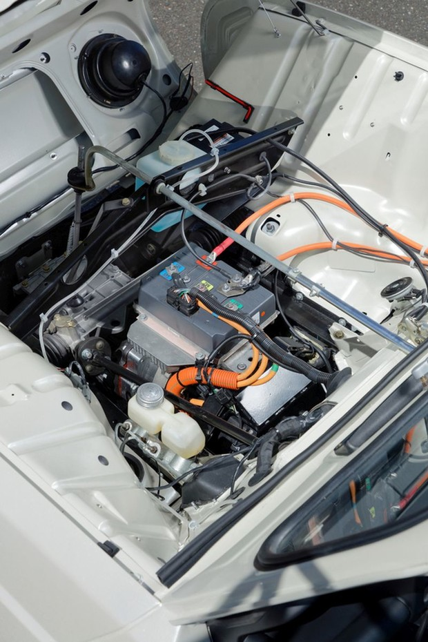 Renault 4L Plein Air motor
