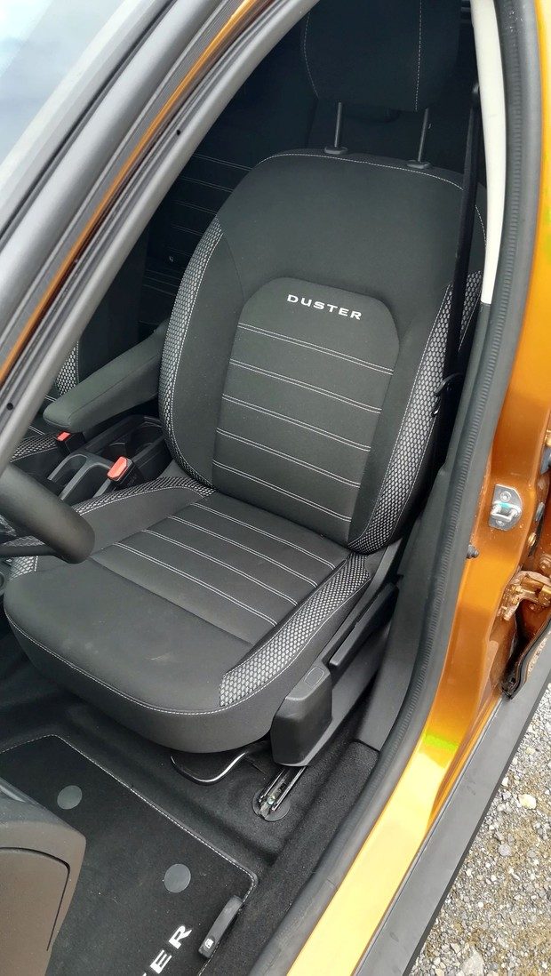 Dacia Duster 1.5 dCi 110 4WD Prestige detalji 12