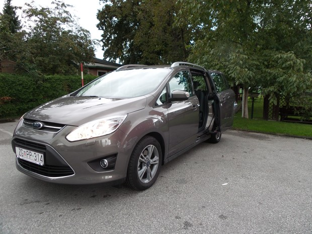 Ford C-Max Grand 1.6 TDCi (07)