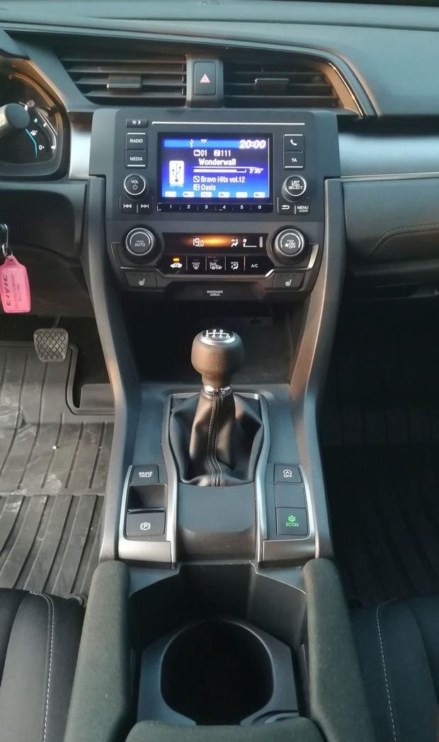 Honda Civic 1.6 i-DTEC 120 Comfort detalji 03