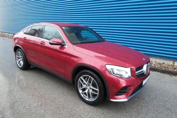 Mercedes GLC Coupe 250 d 2.1 204 AMG Line (10)