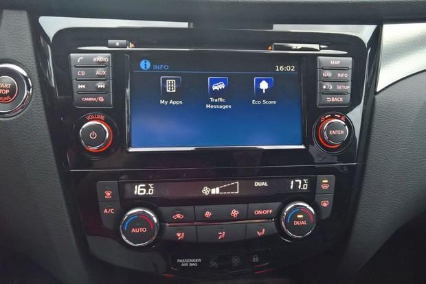 Nissan Qashqai 1,6 dCi 4WD Tekna detalji 06