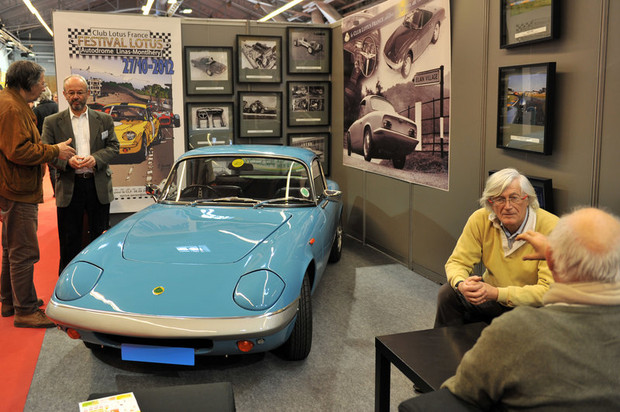 Retromobile 2012 - Club Lotus France