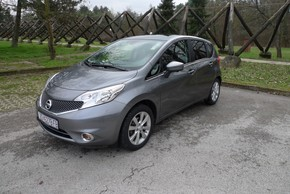 FOTO: Nissan Note 1,2 Acenta 80 KS test