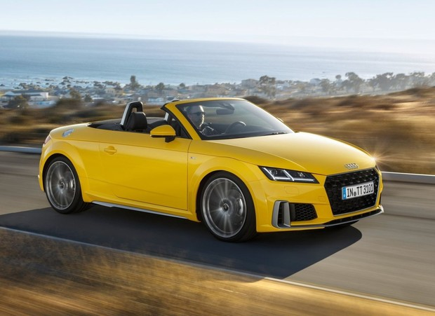 Facelift za Audi TT Coupe i Roadster
