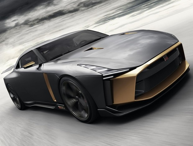 Konceptni Nissan GT-R50 by Italdesign