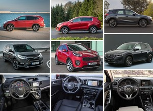 Honda CR-V vs Kia Sportage vs Mazda CX-5