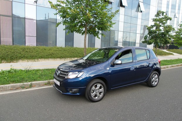 Dacia Sandero 1.2 16V Life plus TEST