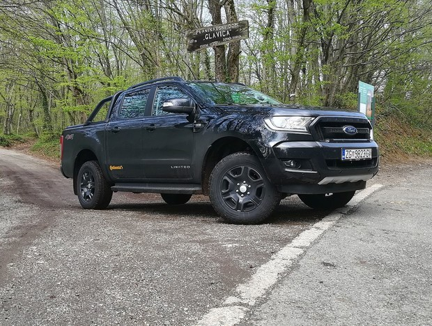 Ford Ranger DCAB Limited 2.2 TDCI TEST