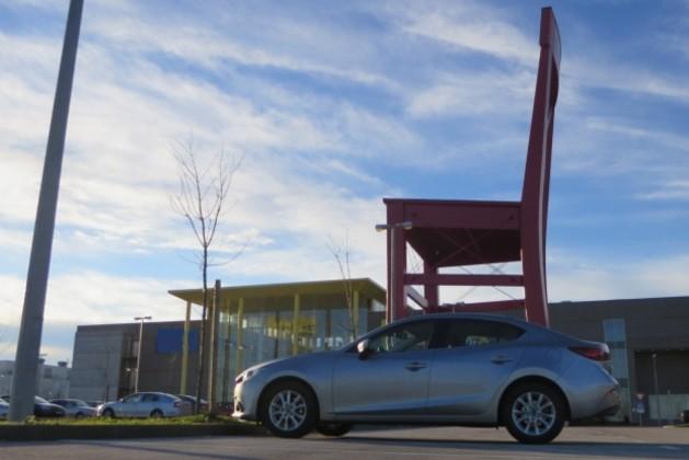 Mazda 3 sedan 2.2 CD150 Challenge TEST