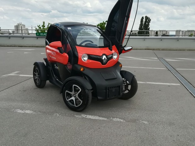 Renault Twizy Intens Red 80 FP TEST