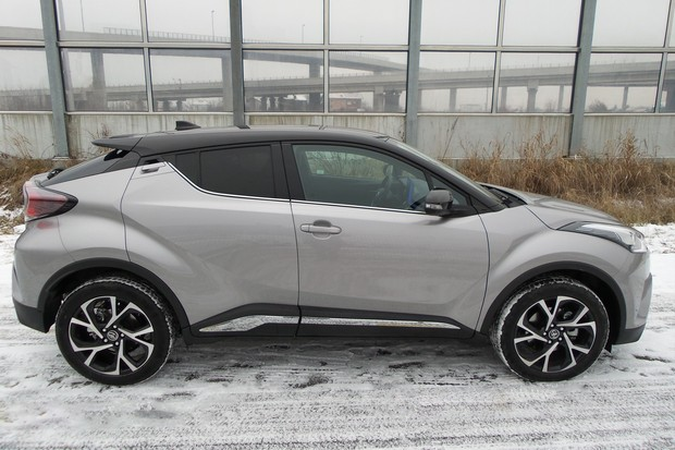 Toyota C-HR 1.2 Turbo 116 C-ult TEST