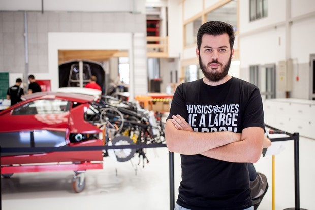 Rimac: The car flew 300 meters